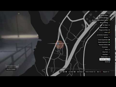 GTA5 import mission banshee 900r location paleto forest