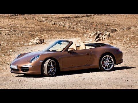 Porsche 911 Carrera S Convertible review (991)