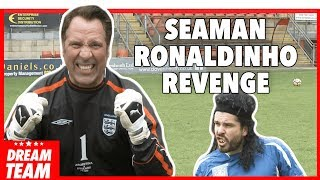 DAVID SEAMAN GETS REVENGE ON RONALDINHO