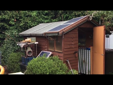 Solar Shed Renovation