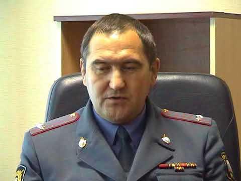 Кузнецк, октябрь 2007, Новый начальник ОВД