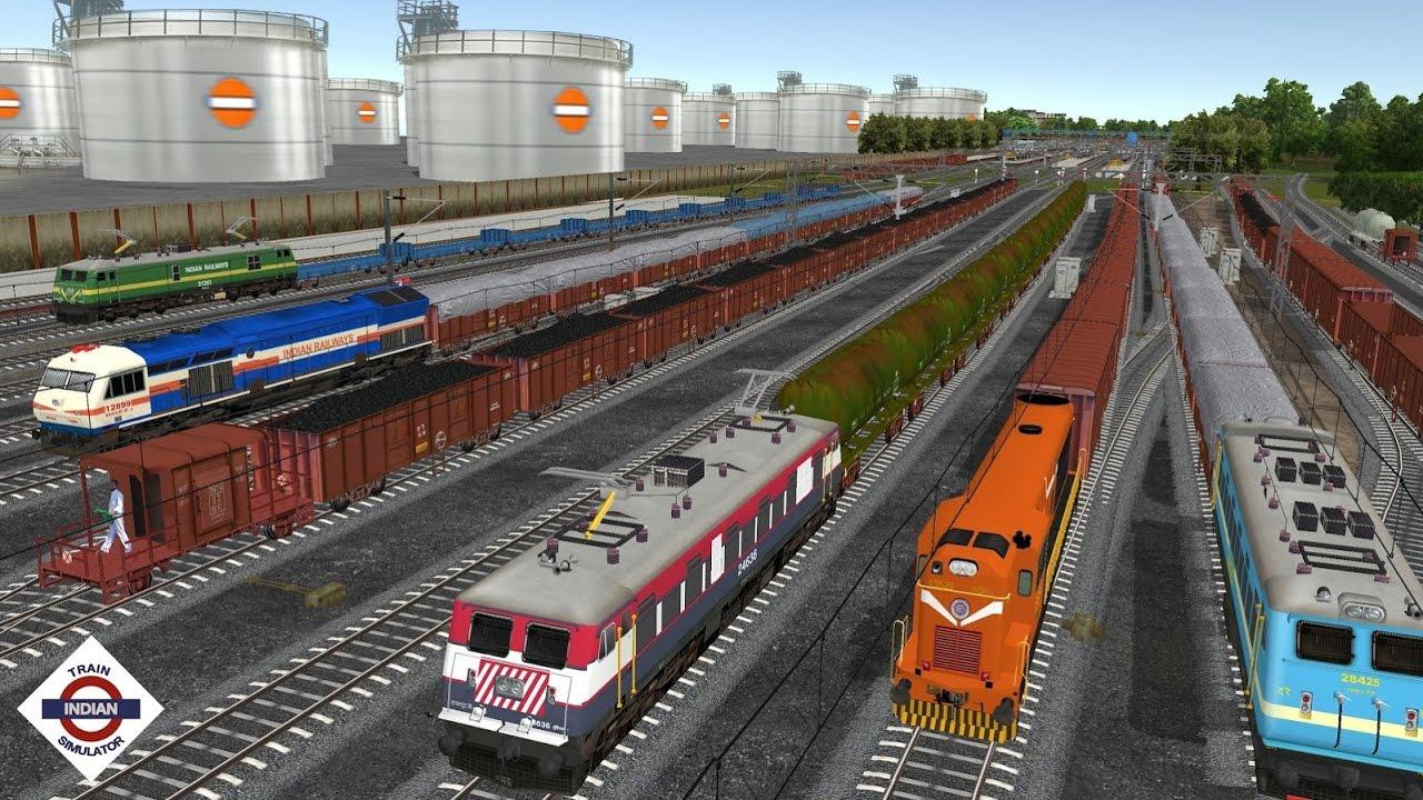 Train Games Simulator : Indian Train Driving Games - Apps ...