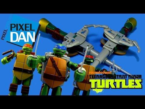 Teenage Mutant Ninja Turtles Mutations Turtle To Weapon Figure Video Review