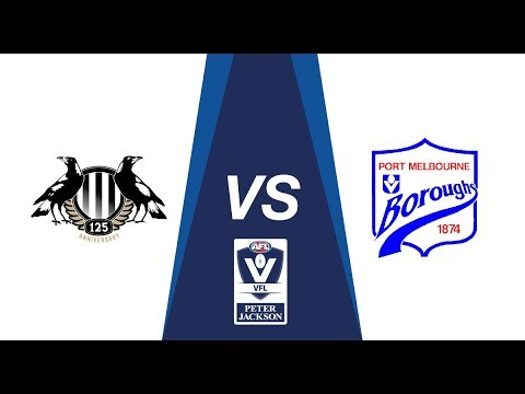 Rd 19 Peter Jackson VFL : Collingwood v Port Melbourne