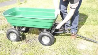 Heavy Duty Garden Trolley Cart Tipper Trailer(, 2015-05-11T11:34:20.000Z)