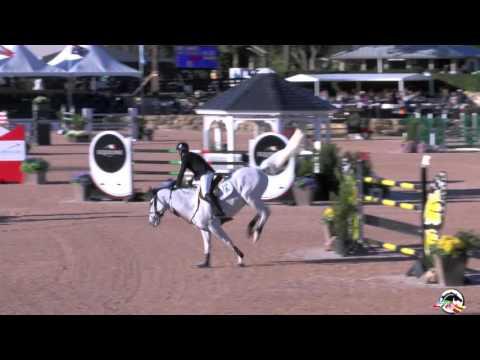Eric Lamaze & Check Picobello Z win $216,000 Ariat Grand Prix CSI4* WEF