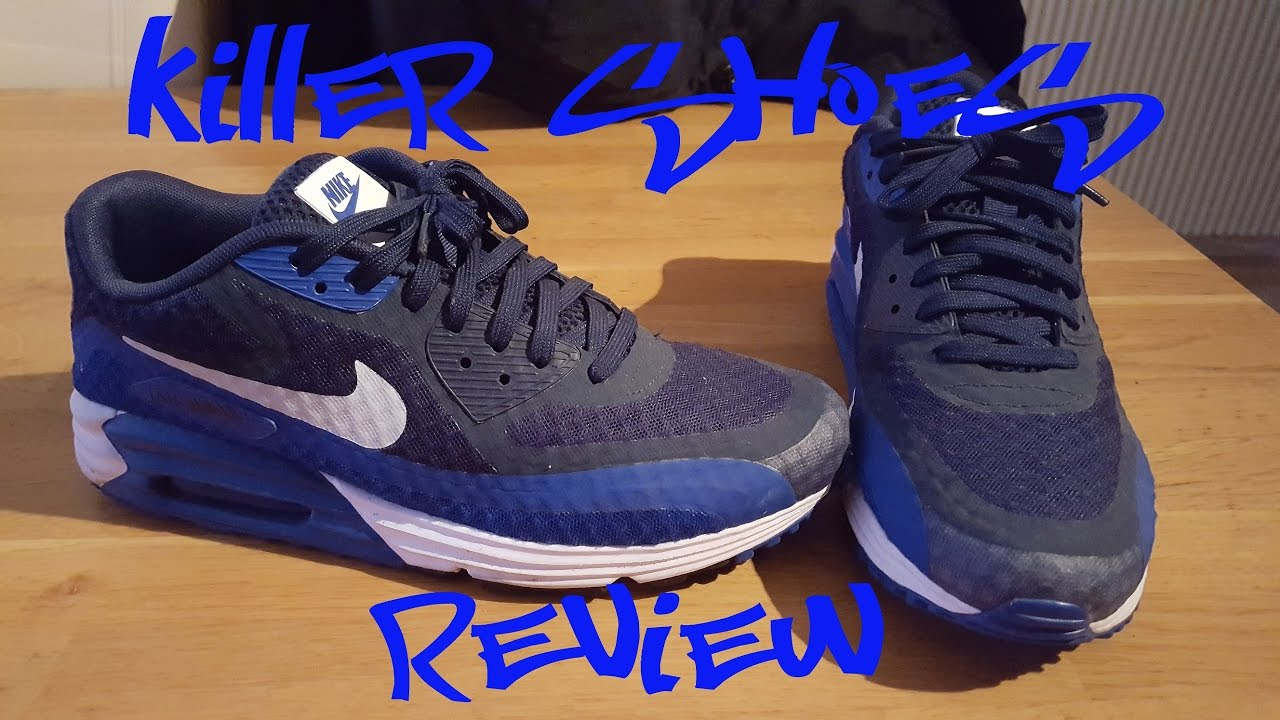 size 40 bc272 af15d ... ireland nike air max lunar 90 breeze lunarlon br deadstock sneaker  review on feet by killer