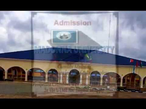 Madonna University Nigeria Admission Video Advert