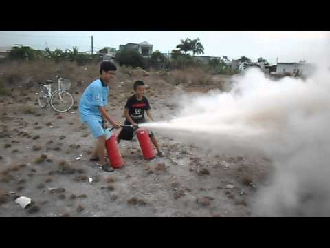 Tập thiết bị chữa cháy