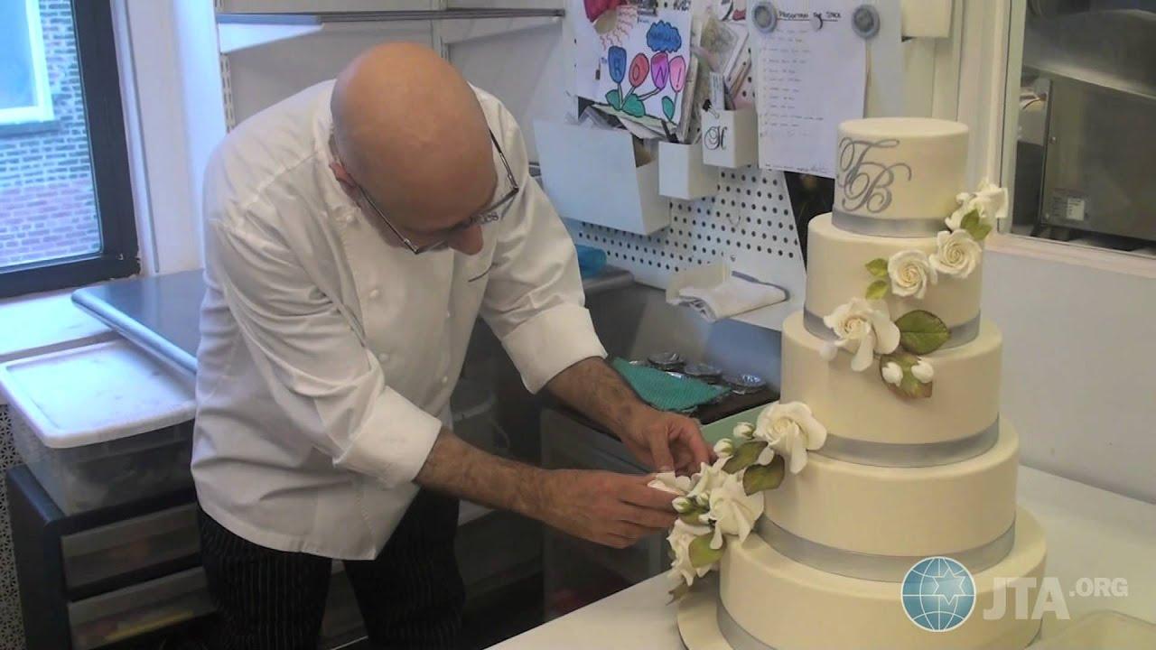 Food Network Sweet Genius Ron BenIsrael Decorates A Wedding - Ben Israel Wedding Cakes