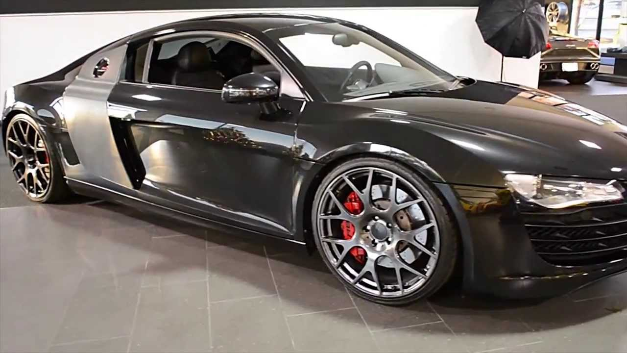 2008 Audi R8 4 2L Phantom Metallic Black LT0584 - YouTube