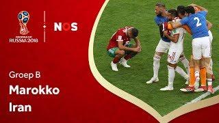 Marokko - Iran (groep B) I WK 2018