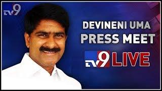 TDP Devineni Uma Press Meet LIVE || Vijayawada - TV9