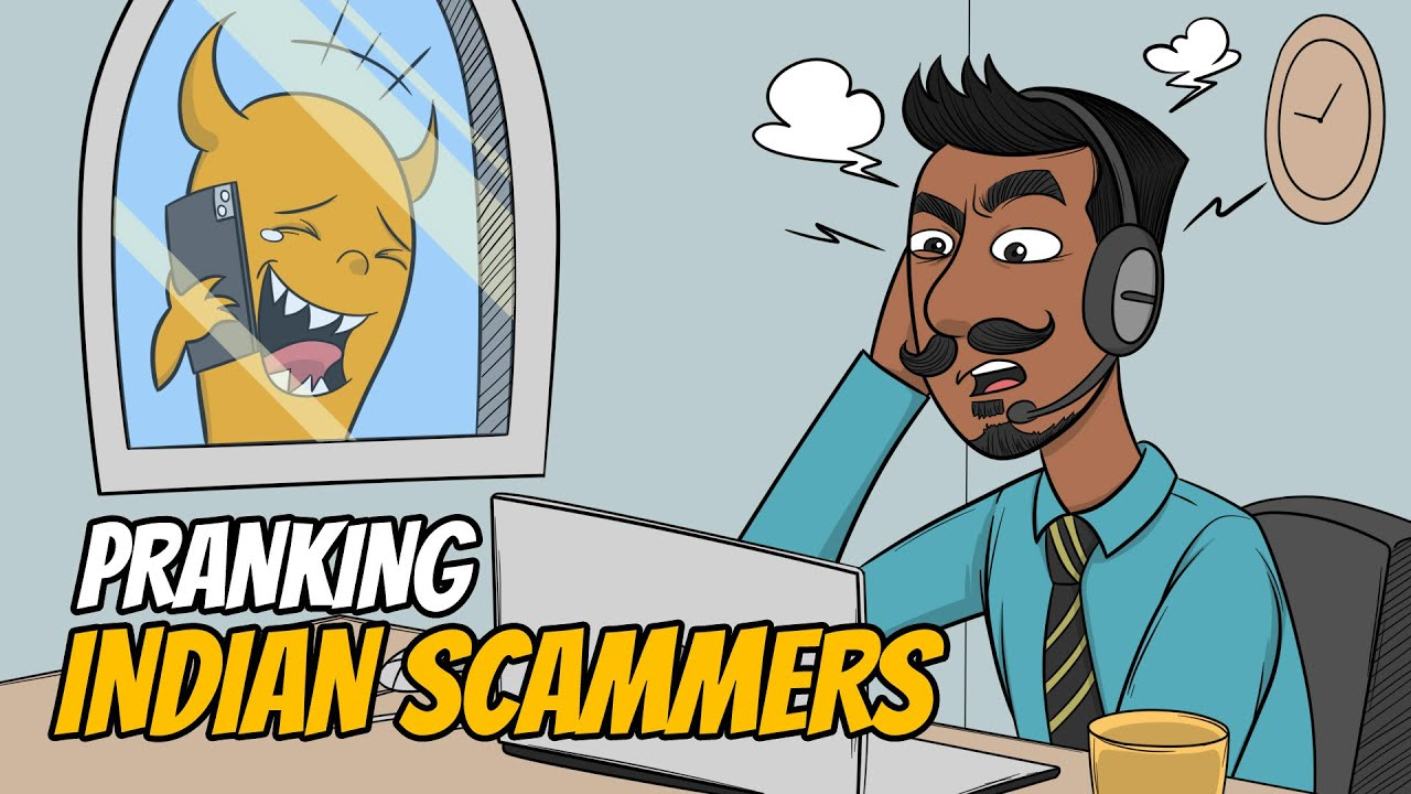 Pranking Indian Scammers Using Multiple Voices