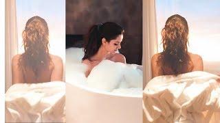 Mahlagha Jaberi | Mahlagha Jaberi In Bathtub And Rooftop Terrace Pool | Beautiful Mahlagha Jaberi