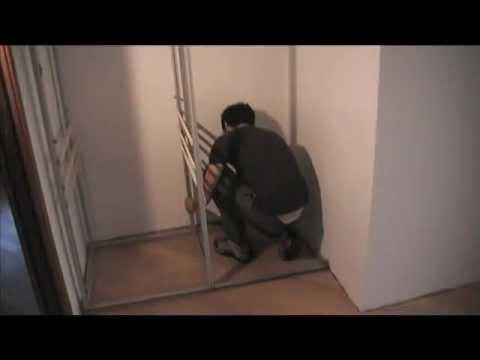 Armadio a muro Marcaclac UNICOsenza Parte prima  YouTube