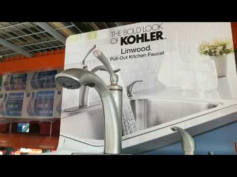 costco!-kohler-linwood-pull-out-kitchen-faucet!-$99!!!