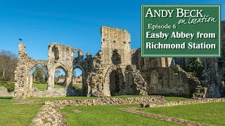 A short walk to Easby Abbey from Richmond Station