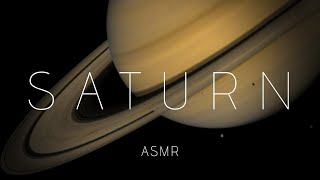 Space ASMR | Exploring Saturn (Facts Science Planets)