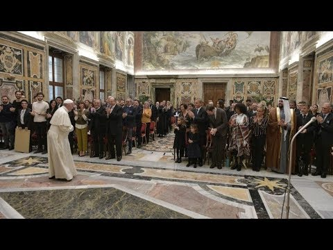 Pope to artists  'you help the Church express its mission' [Vatican and World TV]