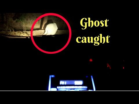 ghost caught @3am | Actual Footage*