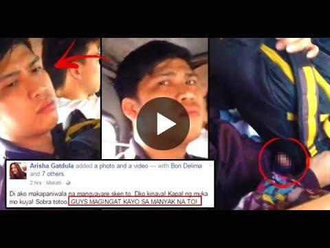 Manyakis sa jeep nakunan ng video!!! thumbnail