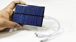 DIY USB Solar Charger // Simple 5V USB charger