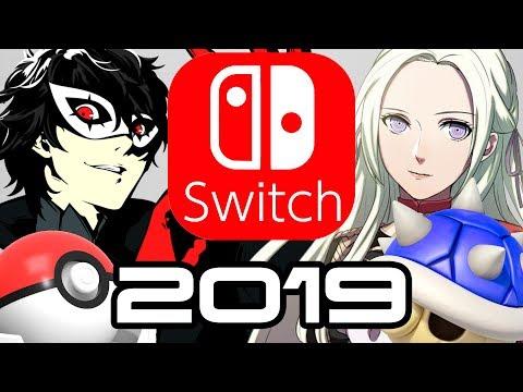 Nintendo Switch in 2019 - Smash DLC, Fire Emblem, Pokemon and Mario Kart Reveal?