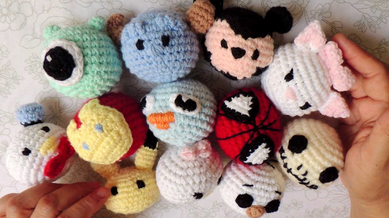 ♥ Day 11: Winnie the Pooh Tsum Tsum Amigurumi (With images ... | 720x1280