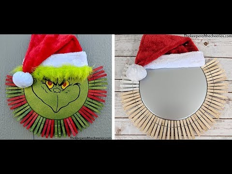 grinch-clothespin-pizza-pan-wreath