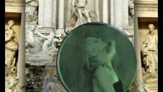 Dolce Vita : Fontana di Trevi - Marcello Mastroiani & Anita Ekberg - Roma Inmortale