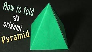 Origami Pyramid