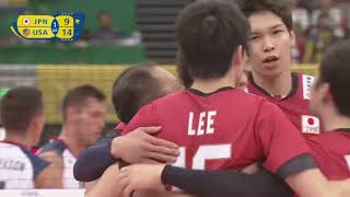 Yuki Ishikawa 石川祐希 Highlights VS USA ( FIVB World Grand Champions Cup 2017)