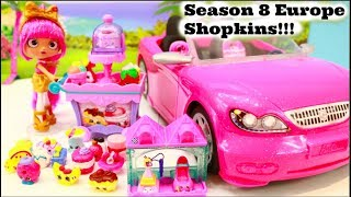 SHOPKINS GO ON VACATION! SEASON 8 EUROPE SHOPKINS. SAISON 8 SHOPKINS, SHOPKINS VILLE GRATTE-CIEL!
