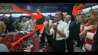 Путин в раздевалке сборной Франции после победы на ЧМ 2018 Игроки кричат Путин Путин