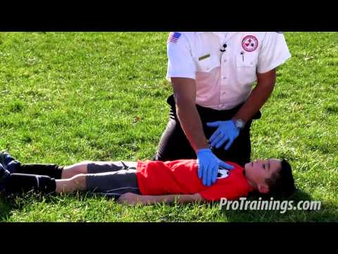 Child CPR - Lay Rescuer