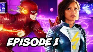 The Flash Season 5 Episode 1 Scene Explained - Comic Con 2018