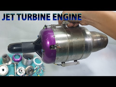 What's inside Jet Turbine Engine RC Plane
