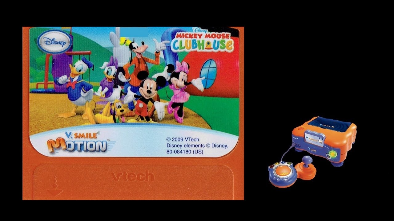 Mickey Mouse Clubhouse V Smile V Motion Playthrough