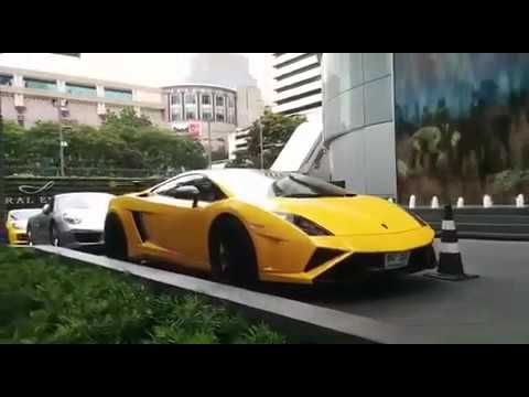 Supercars Bangkok Thailand Central Embassy
