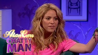 Shakira - full interview on alan carr: chatty man