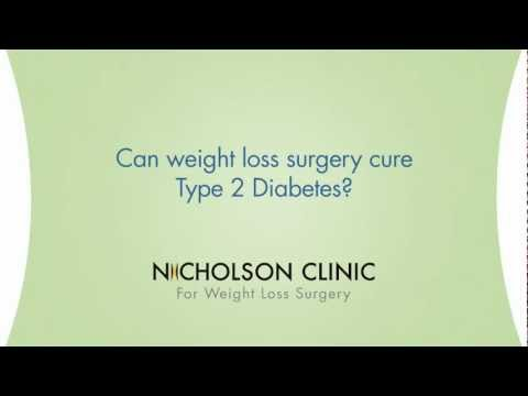 Can weight loss surgery cure Type 2 Diabetes?