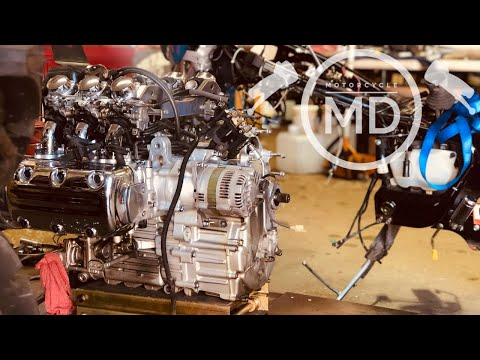Honda Valkyrie Carburetors: Time Lapse