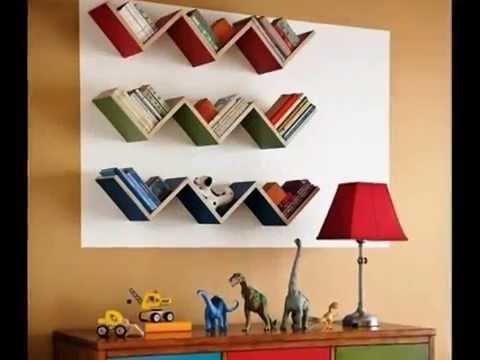 видео: Книжные полки в интерьере