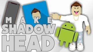 How to Make Shadow Head | Mobile | ROBLOX | itsNJ
