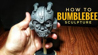 How to make Bumblebee 2018 sculpture