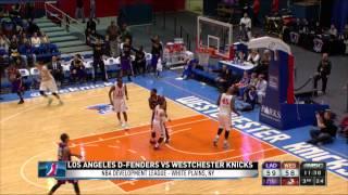 NBA D-LEAGUE HIGHLIGHTS: Westchester 115, Los Angeles 113
