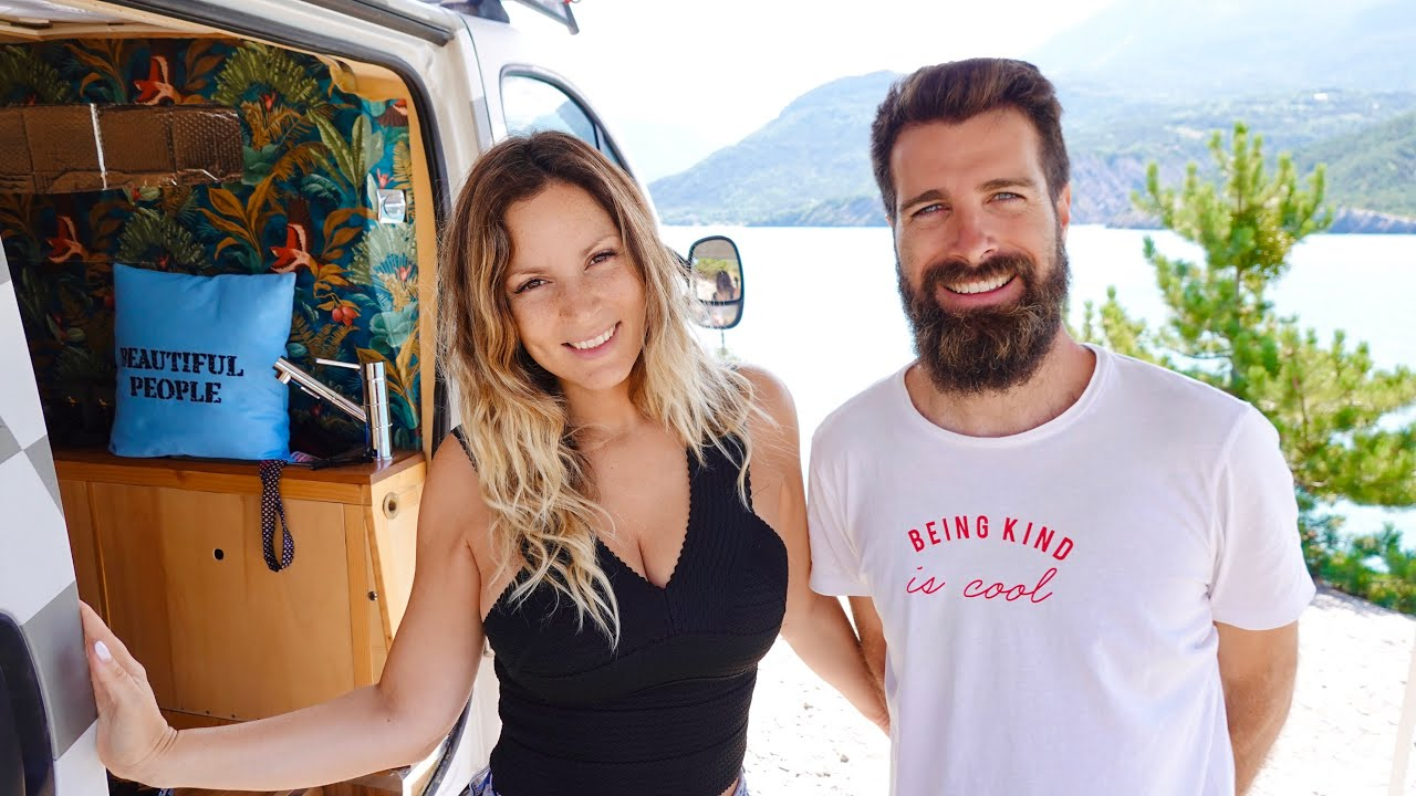 VAN LIFE - WHEN EVERYTHING GOES WRONG but you love it anyways / Adventurous ROAD TRIP FRENCH ALPS!
