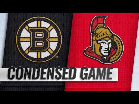 10/23/18 Condensed Game: Bruins @ Senators