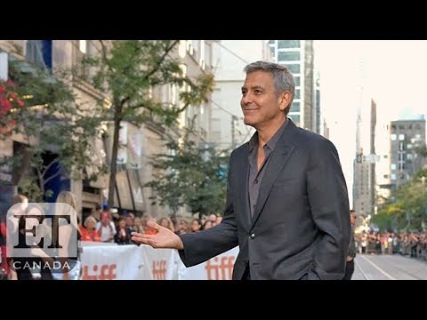 George Clooney And Angelina Jolie Talk Family At TIFF